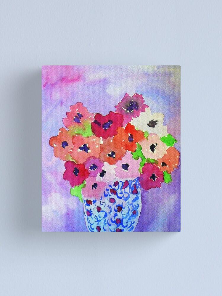 Alternate view of Lavender Blue  Canvas Print