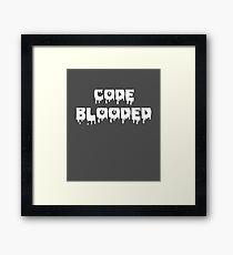 Code Blooded Programmer Framed Print