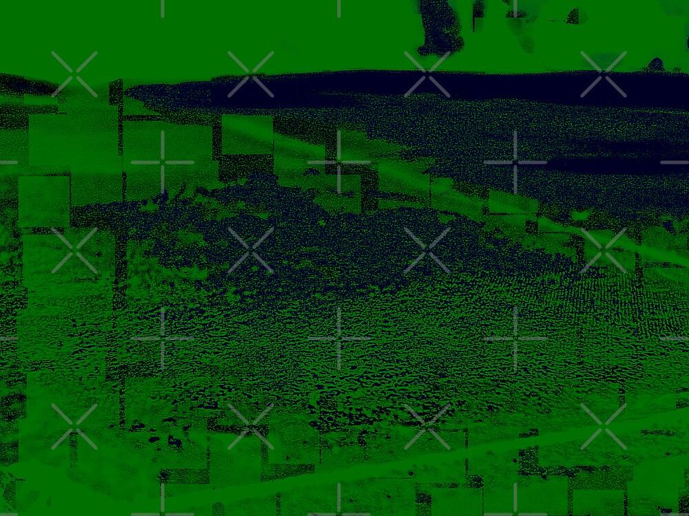 Green Grunge by Rebekah  McLeod