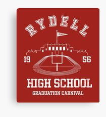 Grease - Rydell high School Graduation Carnival Variant Canvas Print