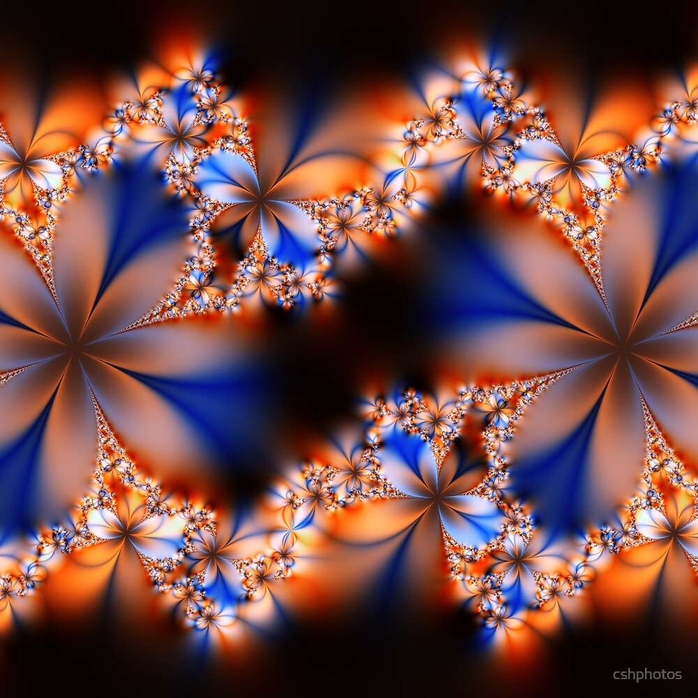 Floral Fractal III by cshphotos
