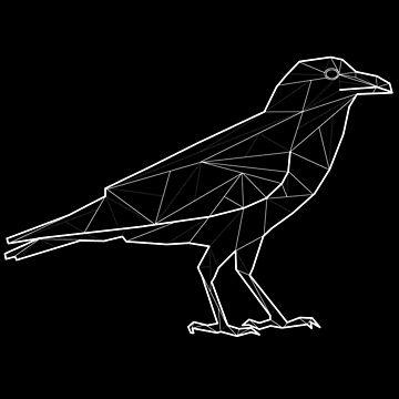 Geometric Raven by dzdn