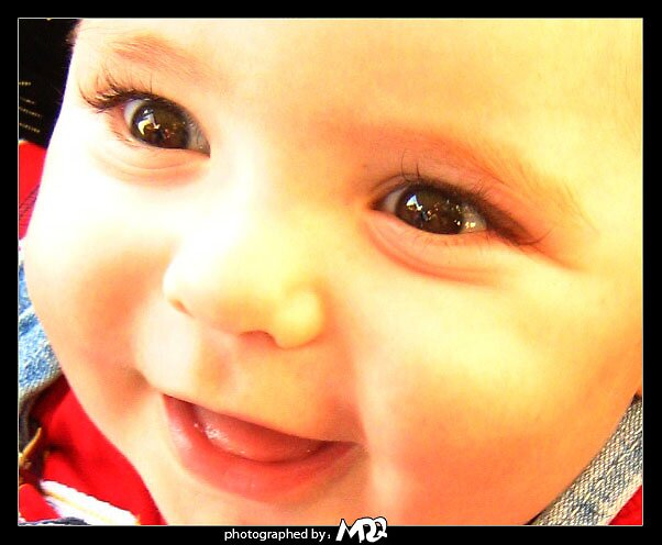 baby smile coloured by MDQ9