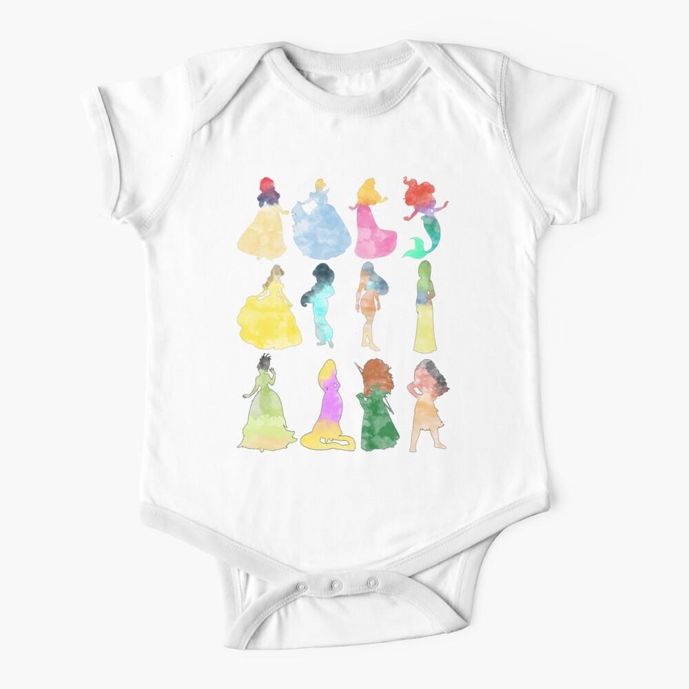 Prinzessinnen Aquarell Baby Body