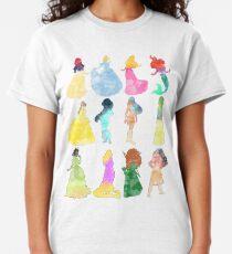 Prinzessinnen Aquarell Classic T-Shirt