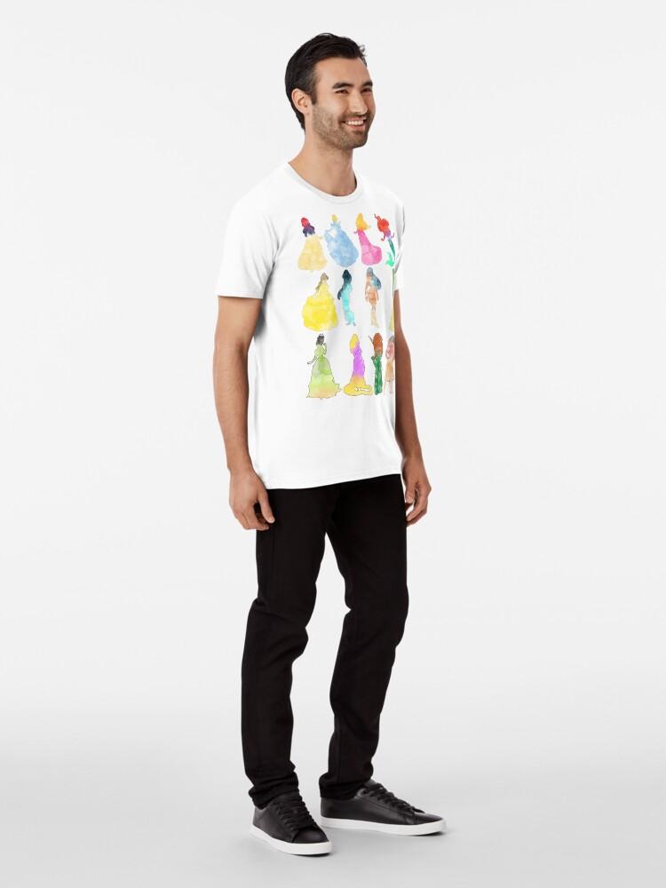 Alternative Ansicht von Prinzessinnen Aquarell Premium T-Shirt