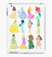 Princesses watercolor iPad Case/Skin