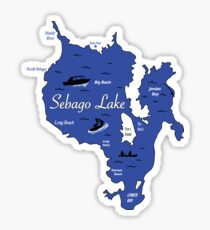 Sebago Lake, Maine Sticker