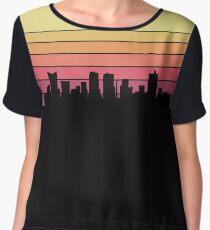 Fort Worth Skyline Chiffon Top