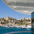 Arriving at Mġarr Harbour, Gozo by Kasia-D