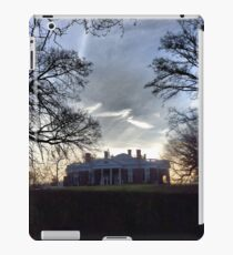 December Twilight at Monticello iPad Case/Skin