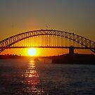 Sunset - Sydney Harbour Bridge by Of Land & Ocean - Samantha Goode