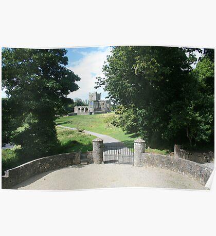 Tintern Abbey view 2 Poster