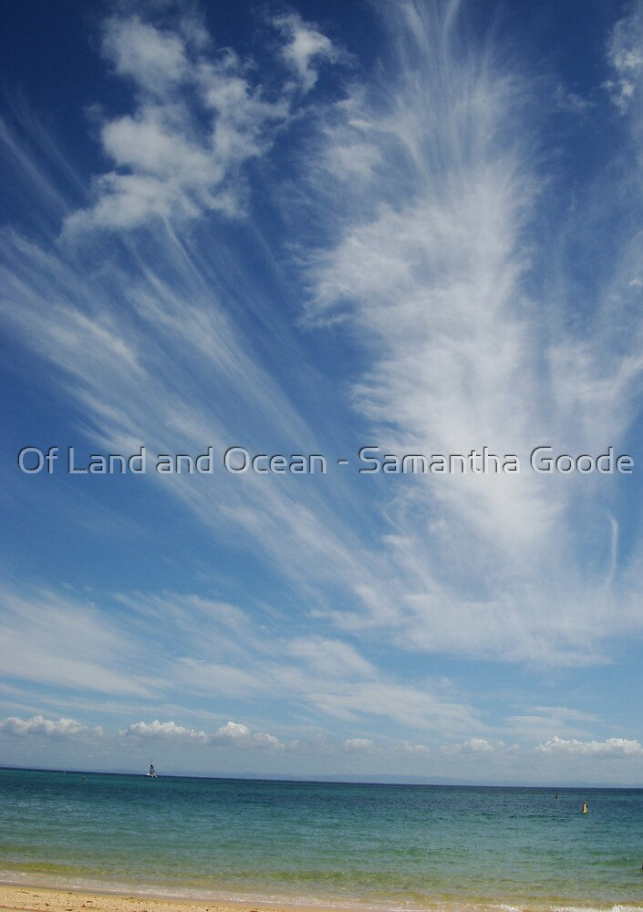 Wispy Clouds by Of Land & Ocean - Samantha Goode