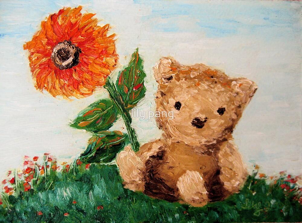 Bear Sunshine by lily pang