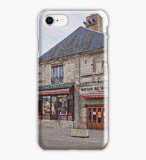Shops in Villandry, France iPhone Case/Skin