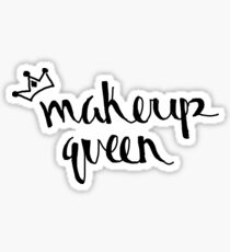 makeup queen Sticker