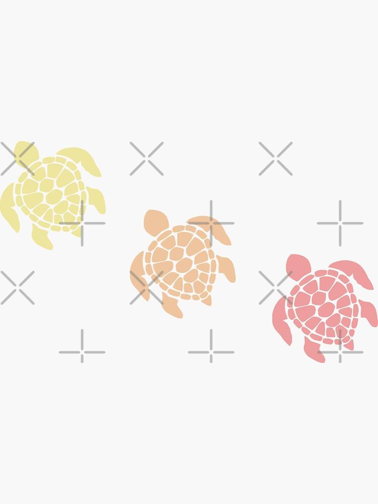Schildkröte - warme Pastellfarben von winternities
