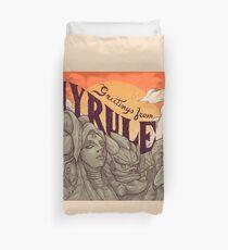 Greetings from Hyrule Duvet Cover