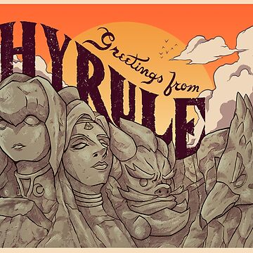 Greetings from Hyrule by MeleeNinja