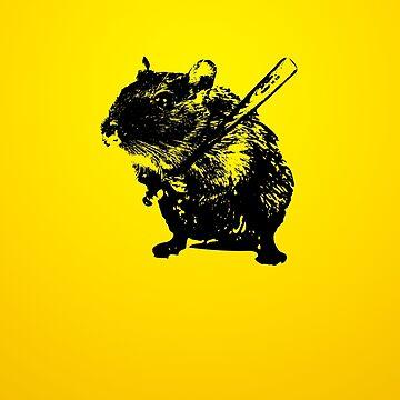 Verärgerte Maus von badbugs