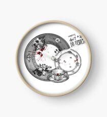 Vampires Don't Do Dishes Clock