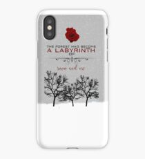 A Court of Thorns and Roses: First Words Phone Case iPhone Case