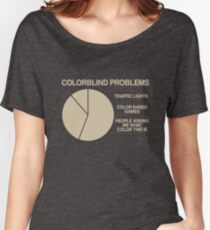 Color blind problems Women's Relaxed Fit T-Shirt