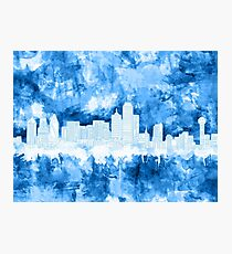 Skyline von Dallas Fotodruck