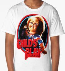 Chucky , child's play, diabolicall doll Long T-Shirt
