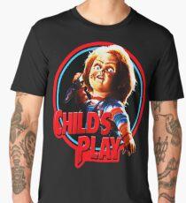 Chucky , child's play, diabolicall doll Men's Premium T-Shirt