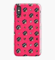 Persona 5: Chibi Akira Kurusu Pattern iPhone Case