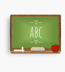 Learning my ABC.  Canvas Print