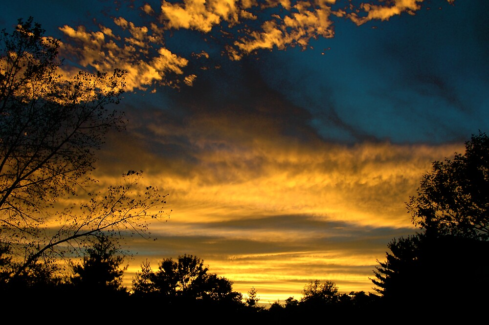 Sunset view again by Jim Caldwell