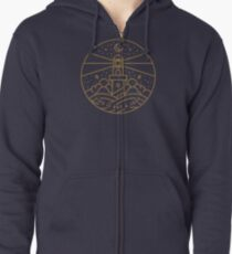 The Watchtower Zipped Hoodie