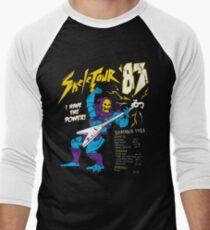 Camiseta ¾ bicolor para hombre Skeletour '83