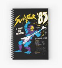 Skeletour '83 Spiral Notebook