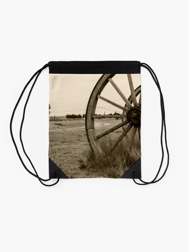 Alternate view of rural Drawstring Bag