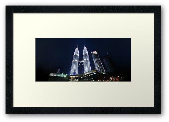 Petronas Panorama by Keegan Wong