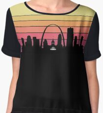 Saint Louis Skyline Women's Chiffon Top