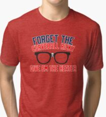 FORGET THE CURVEBALL RICKY Tri-blend T-Shirt