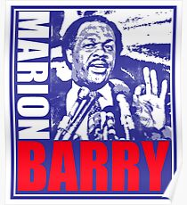 MARION BARRY Poster
