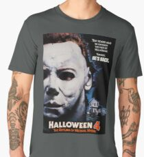 Halloween 4 Michael Myers  Men's Premium T-Shirt