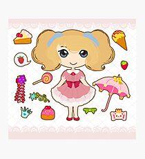 Cute sweet lolita.  Photographic Print