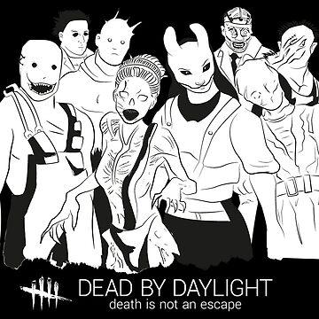 Killers (Dead by daylight) dark version by EstelaAyuso