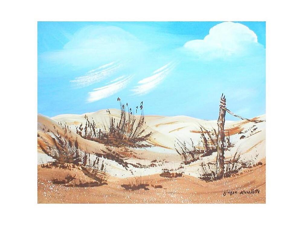 Sand Hills by Ginger Lovellette
