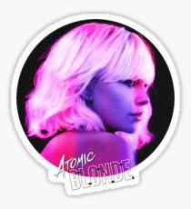 Atomic Blonde Sticker