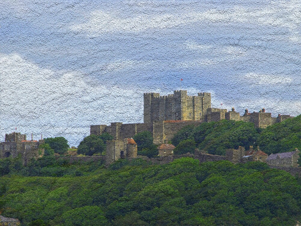Dover Castle by Alan Findlater