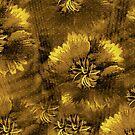 Gold Sweet William pattern by ♥⊱ B. Randi Bailey