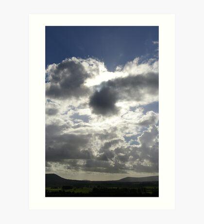 Every cloud............. Art Print